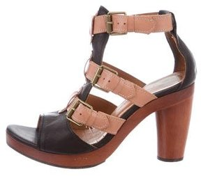 Chie Mihara Colorblock Multistrap Sandals
