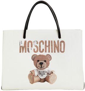 Moschino Teddy Shopping Tote Bag