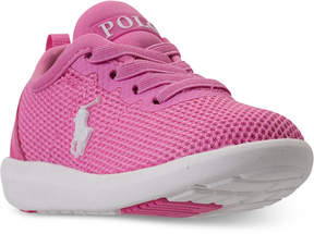 Polo Ralph Lauren Toddler Girls' Kamran Casual Athletic Sneakers from Finish Line