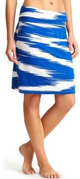 Athleta Printed Midi Skirt