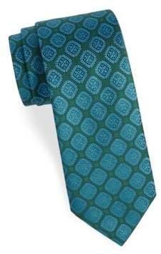 Charvet Embroidered Silk Tie