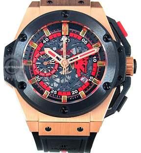 Hublot Big Bang 716.OM.1129.RX.MAN11 18K Rose Gold Chronograph 48mm Mens Watch