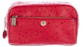 Rebecca Minkoff Embossed Leather Cosmetic Bag