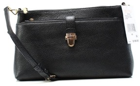 Michael Kors Large Snap Pocket Crossbody Bag - Black - 32H6GM9C3L-001 - BLACKS - STYLE