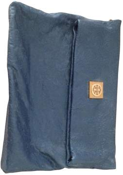 Tory Burch Blue Leather Clutch bag - BLUE - STYLE