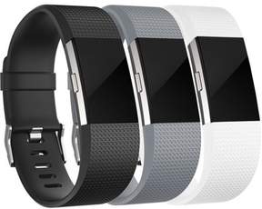 Fitbit For Charge 2 Bands(3Pack), Oak Leaf Replacement Accessory Wristbands for Charge 2 HR, Small Large