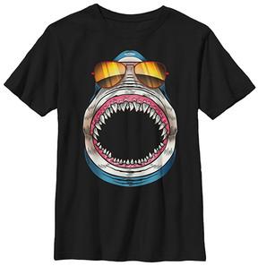 Fifth Sun Black Shark Shades Crewneck Tee - Boys