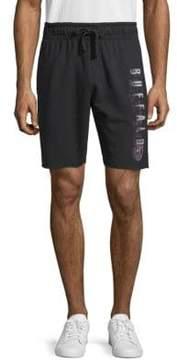 Buffalo David Bitton Hadel Whale Drawstring Shorts