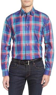 Robert Talbott Anderson Classic Fit Madras Plaid Sport Shirt