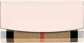 Burberry Porter horseferry check leather wallet - PALE ORCHID - STYLE