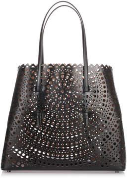 Alaia Black leather cut-out bag