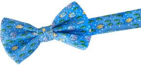 Vineyard Vines Boys Tropical Fish Bow Tie