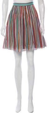 Cacharel Printed Knee-Length Skirt