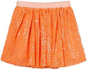 Molo Orange Bird Of Paradise Benete Skirt