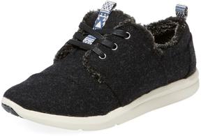 Toms Women's Del Rey Faux Fur Lined Sneaker