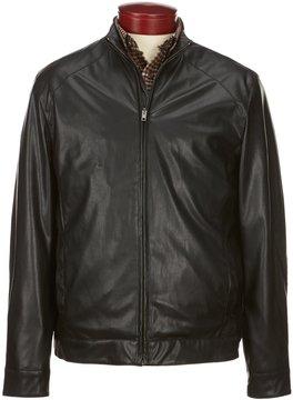 Murano Lightweight Faux-Leather Moto