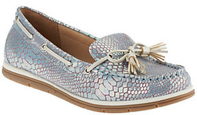 White Mountain Slip-on Boat Shoes - Vacation