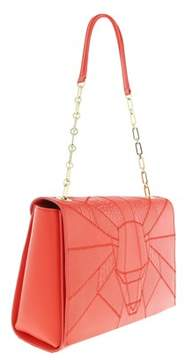 Roberto Cavalli Medium Shoulder Bag Elisabeth Coral Shoulder Bag.