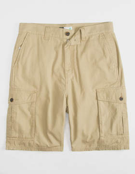 Lrg RC Ripstop Dark Khaki Mens Cargo Shorts