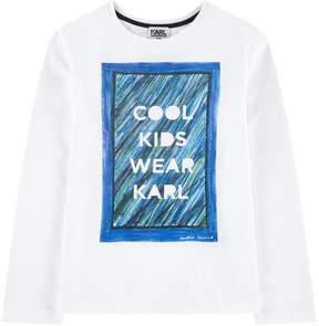 Karl Lagerfeld by Hudson Kroenig T-shirt