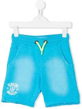 Vingino neon drawstring logo shorts