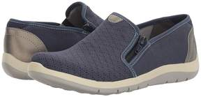 Aravon Wembly Side Zip Women's Slip on Shoes