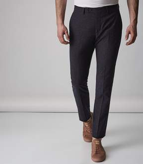 Reiss Function Fleck Weave Tailored Trousers