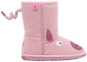Emu Faux Pony Fur & Merino Wool Boots
