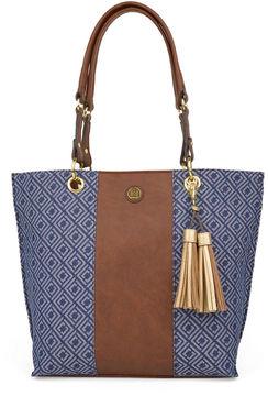 LIZ CLAIBORNE Liz Claiborne Safari Catalina Tote Bag