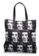 Marc Jacobs Women¿s Polyester ¿byot Maria Callas¿ Tote Bag Black. - BLACK - STYLE