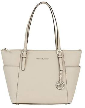 MICHAEL Michael Kors Jet Set Top-Zip Tote - CEMENT / SILVER - STYLE