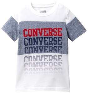 Converse Colorblock Repeat Tee (Big Boys)