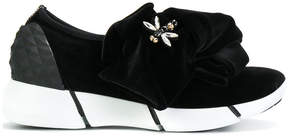 Strategia bow embellished sneakers