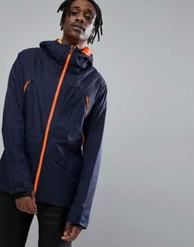 Oakley Snow Vertigo BZS Ski Jacket 15K Waterproof Regular Fit in Navy