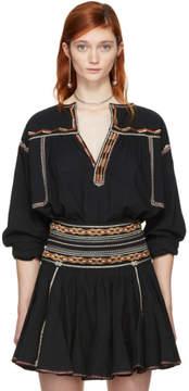 Etoile Isabel Marant Black Bilcky Blouse