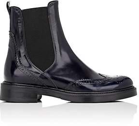 Barneys New York Women's Leather Wingtip Chelsea Boots