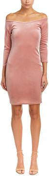 Blvd Velvet Shift Dress