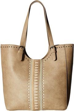 American West El Dorado Large Scoop Top Tote Tote Handbags
