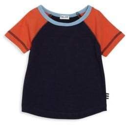 Splendid Baby's Short-Sleeve Colorblock Raglan Tee