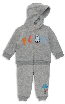 Paul Smith Baby's Elasticized Cotton Jogger Set