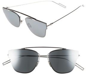 Christian Dior Men's 57Mm Semi Rimless Sunglasses - Palladium