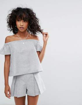 d.RA Calabasas Off Shoulder Blouse