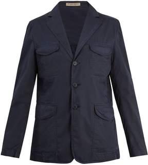 Bottega Veneta Notch-lapel cotton blazer