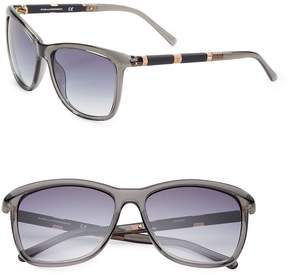 Diane von Furstenberg Women's Hannah 56MM Square Sunglasses