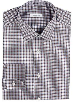 Boglioli Men's Checked Cotton Dress Shirt