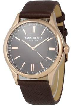 Kenneth Cole Leather Mens Watch KC50133002