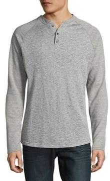Sovereign Code Faded Long Sleeve Henley