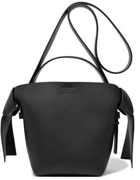 Acne Studios Musubi Mini Knotted Leather Shoulder Bag - Black