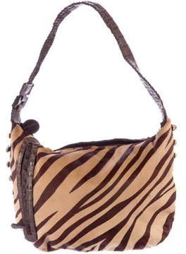 Carlos Falchi Calfhair Shoulder Bag