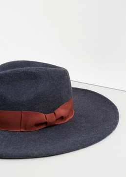 Mango Outlet Wool fedora hat